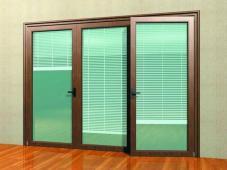Roman Shades French Doors Solar