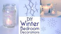 Room Decor Diy Winter Bedroom Decorations Tutorial