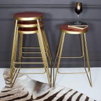 Rouge Brass Bar Stools Audenza