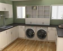 Rousing Laundry Cabinet Kit Modifi Horizon