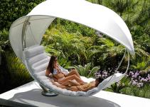 Royal Botania Wave Modern Garden Hammock Luxury Twin