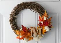 Ruche Project Diy Autumn Wreaths