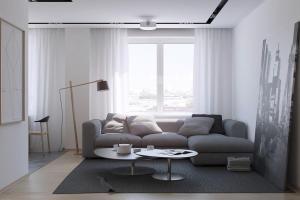 Russian Apartment Living Room Interior Design Ideas