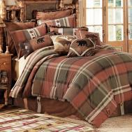 Rustic Cabin Bedding Decoration Trendy Log