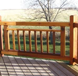 Rustic Deck Railing Ideas State Stair Design