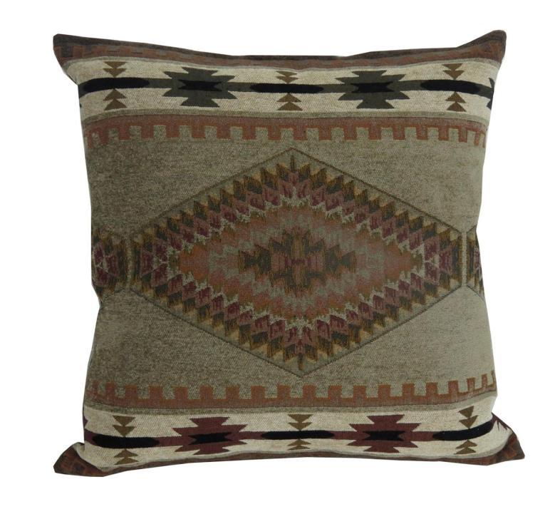 Rustic Decorative Pillows Brown Moose