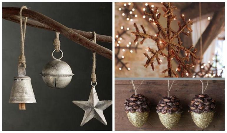 Rustic Diy Christmas Ornaments Ideas
