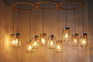 Rustic Kitchen Lighting Ideas Diy Hanging Mason Jar