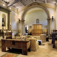 Rustic Living Room Spectrum Interior Design