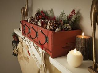 Rustic Outdoor Christmas Decorations Primitive