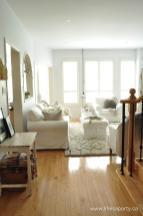 Rustic Scandinavian Living Room Eating Area Reveal