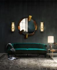 Saari Velvet Sofa Modern Contemporary Furniture Brabbu