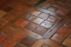 Saltillo Tile Stairs Step Raiser Terracotta Steps