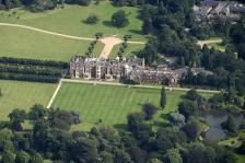Sandringham House Aerial Country Retreat