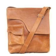 Satchel Leather Messenger Bag Mens Women Unisex