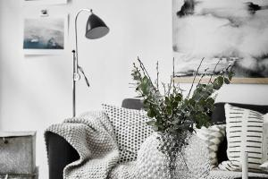 Scandinavian Apartment Oversized Watercolor Art