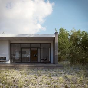 Scandinavian Summer House 3dstudija Showme Design