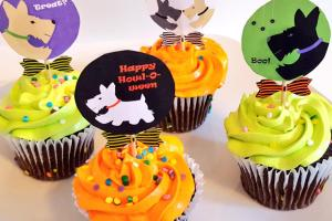 Scottie Mom Diy Halloween Cupcake Toppers