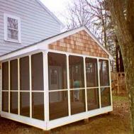 Screened Porch Jbeedesigns Outdoor Simple
