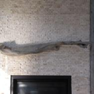 Sea Our Driftwood Fireplace Mantle