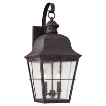 Seagull Lighting Two Light Chatham Colonial Outdoor Wall