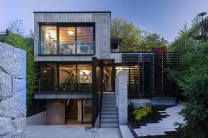 Secluded Urban Residence Vancouver Laneway House