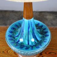 Select Modern Large Danish Drip Glaze Ceramic