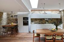 Semi Detached London Terrace House Gets Bright Modern