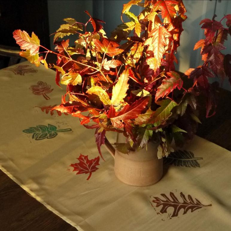 Sense Simplicity Fall Diy Table Runner