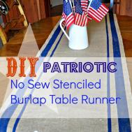 Serendipity Refined Blog Easy Diy Patriotic Sew