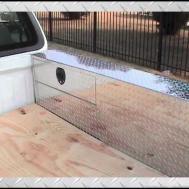 Series Pork Chop Box Truck Toolbox Storage Over