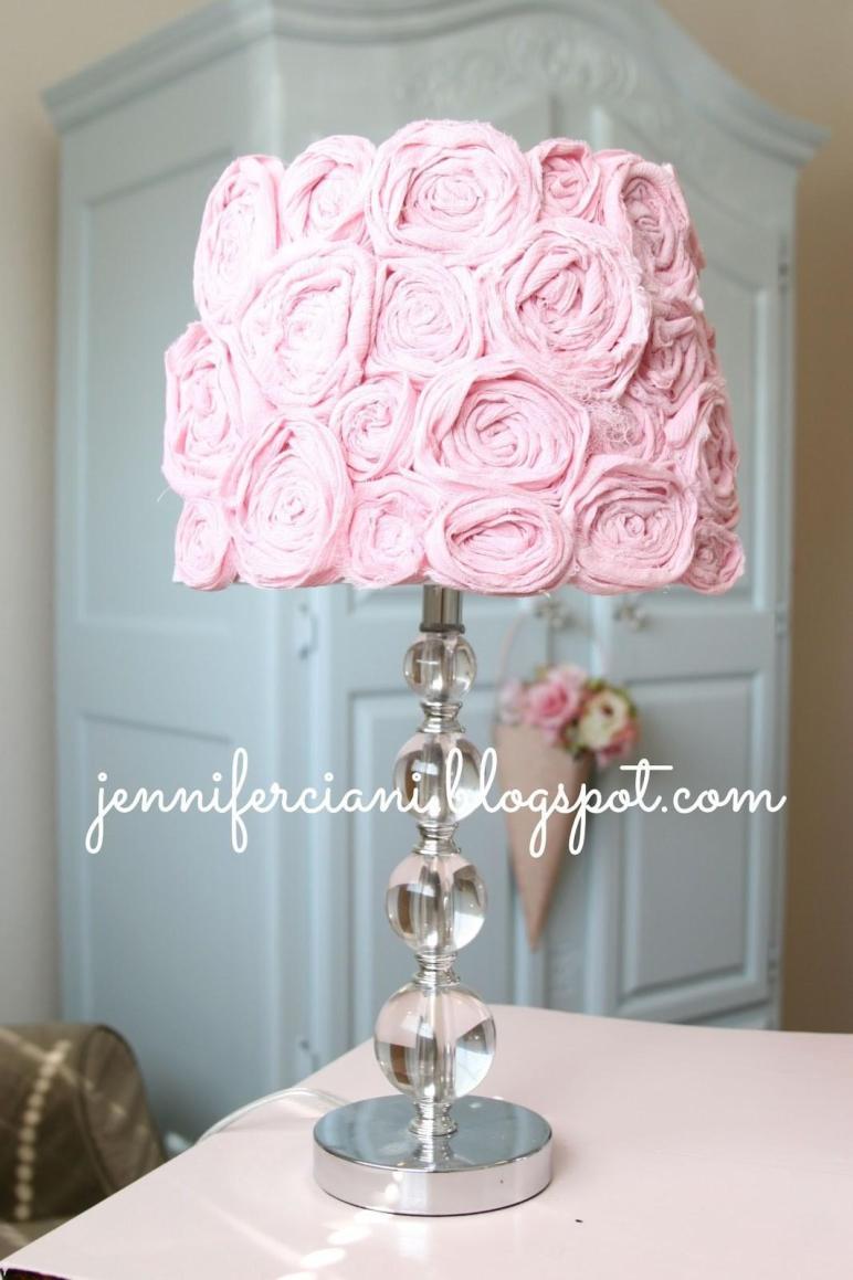 Shabby Chic Lamp Shade Simply Ciani