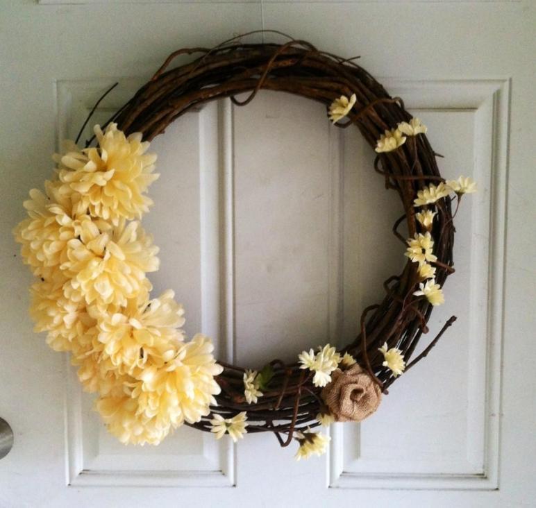 Shabby Chic Summer Wreath Diy Girl