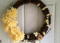 Shabby Chic Summer Wreath Diy Girl