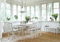 Shabby Chic Sunrooms Relaxing Radiant Escape