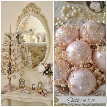 Shabby Love Pastel Christmas Decor Ideas
