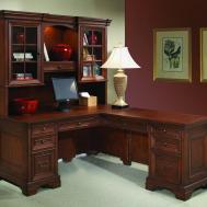 Shaped Computer Desk Return Classic Home Office