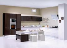 Shaped Modular Kitchen Design Designs