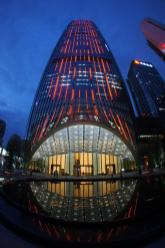 Shenzhen China Kingkey 100 Tower Lightning Design