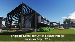 Shipping Container Office Conversion Concept