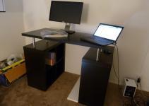 Short Blue Sky Diy Standing Desk Parts