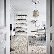Simple Decor Old Scandinavian Apartment Design