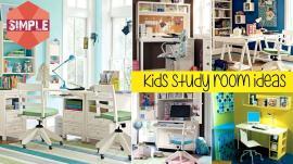Simple Kids Study Room Ideas