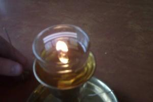 Simple Oil Candle Wick Make Lamps Candles Using