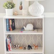Simple Versatile Bookshelf Pop Patterned