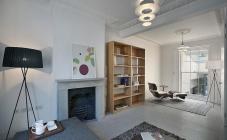 Simple Victorian Contemporary Interior Design Placement