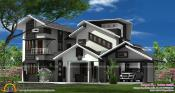 Sketchup Cantilever House Design Cadblocksfree Cad