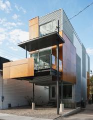 Slim Style Narrow House Masterpiece Fine Modern