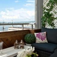 Small Apartment Balcony Ideas