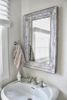 Small Bathroom Chic Elegant Mirrors Make Bathrooms Look
